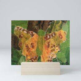 Golden Butterfly Mini Art Print