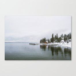 Flat Head Lake, MT Canvas Print