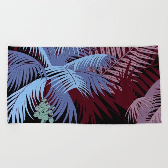 TROPICAL PARADISE 2 Beach Towel