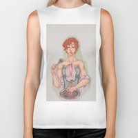 vogue Biker Tanks featuring Vogue by aspiin
