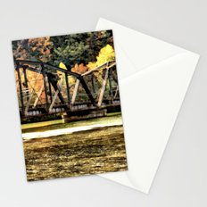 West VA Train Bridge Stationery Cards