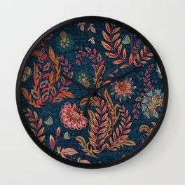 Bandana - Floral Wall Clock