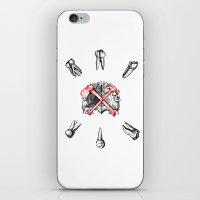 teeth iPhone & iPod Skins featuring Teeth by Ilya kutoboy