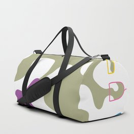 Pouring Wine white Duffle Bag