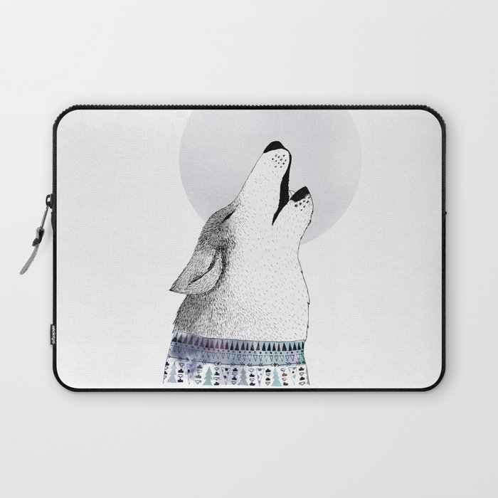 Mr. Wolf Laptop Sleeve