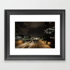 01 - DownTown_LA Framed Art Print