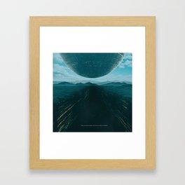 DEPTH (everyday 04.27.17) Framed Art Print