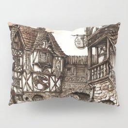 Medieval Town Pillow Sham