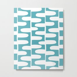 Hopscotch - Pond Metal Print