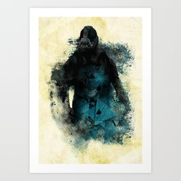 Abstract BANE Art Print