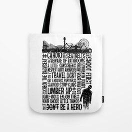 The Zombieland Rules Tote Bag