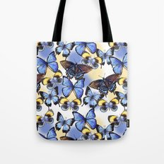Pattern with butterflies Tote Bag