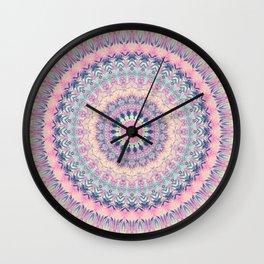 Mandala 256 Wall Clock