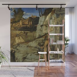 "Giovanni Bellini ""Saint Francis in the Desert"" Wall Mural"