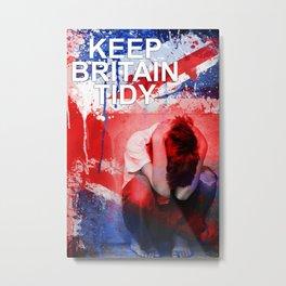 Keep Britain Tidy Metal Print