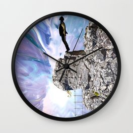 The Edge OF Morality Wall Clock
