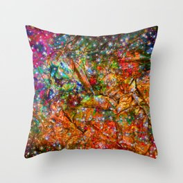 gift wrapping paper Throw Pillow
