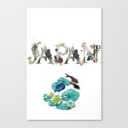 Japan Travel Poster Canvas Print