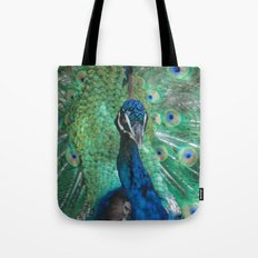 Let Me See Your Peacock Tote Bag