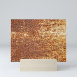 Rust steel Mini Art Print