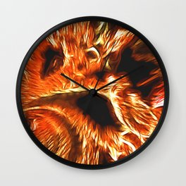 Faces of Hell Wall Clock