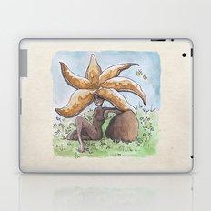 Empire of Mushrooms: Chorioactis geaster Laptop & iPad Skin