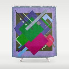 Geometric illustration 53 Shower Curtain