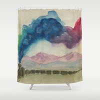 journey Shower Curtains featuring Journey by Jen Hallbrown