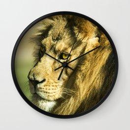 Royal and Regal Lion Wall Clock