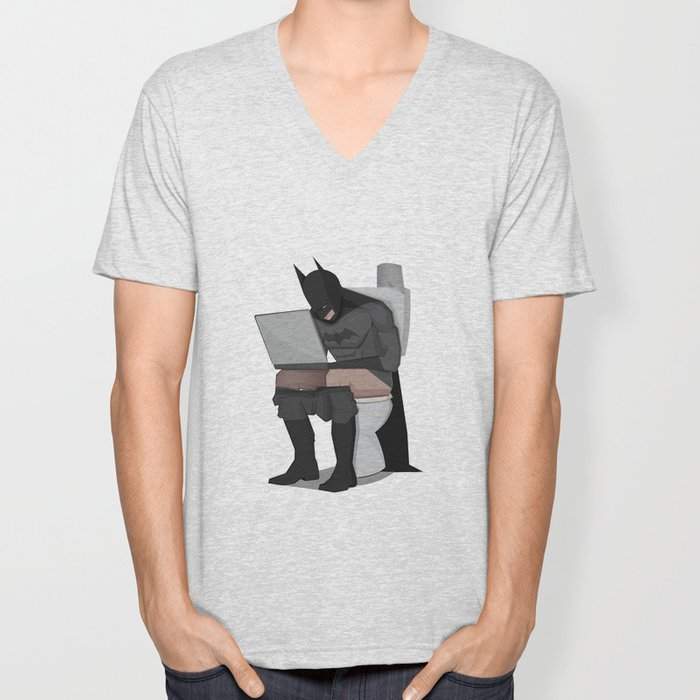 BATROOM Unisex V-Neck