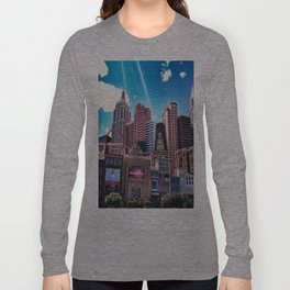 Las Vegas New York New York.!  Long Sleeve T-shirt