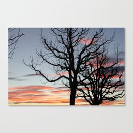 Lausanne Sunset Canvas Print