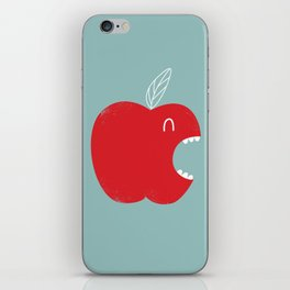 Who's biting who? iPhone Skin