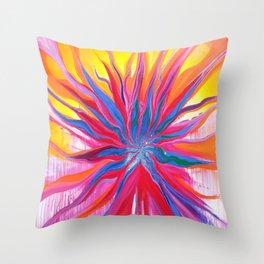 Explosive Love Throw Pillow