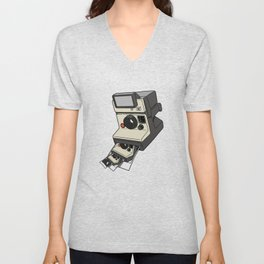 Cam-ception (continuous snapshot) Unisex V-Neck