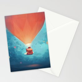 Flying Homes Stationery Cards