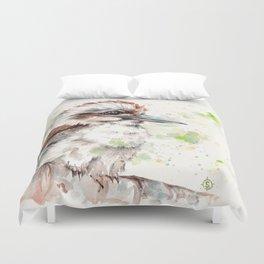 A Kookaburras Gaze Duvet Cover