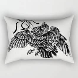 dead bird Rectangular Pillow