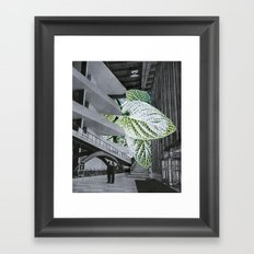 overgrowth Framed Art Print