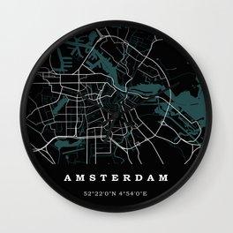 City of Amsterdam Wall Clock