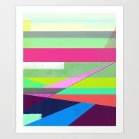 Color Field Art Print