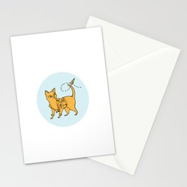 Bad Cattitude Stationery Cards