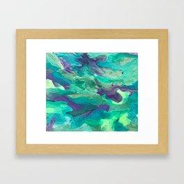 Green Rule Framed Art Print