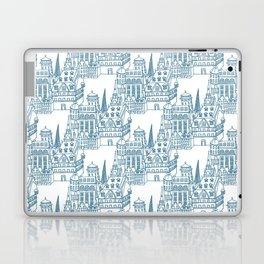 Buildings in Blue Laptop & iPad Skin