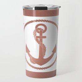 Rose Anchor Travel Mug