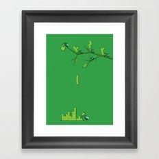 Amazon Addiction Framed Art Print