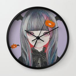 Pumpkin Nightmare Wall Clock