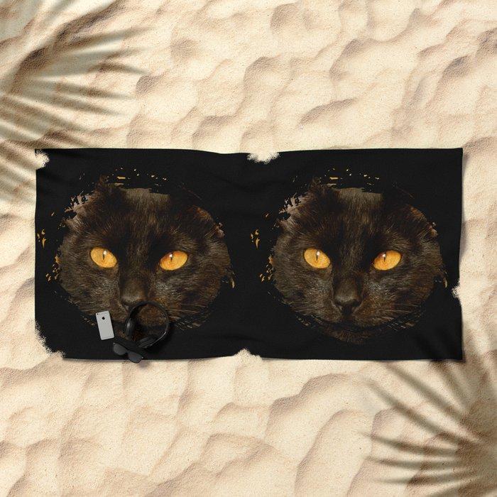 DARK DELIGHT Beach Towel