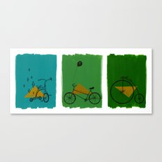 confidant. (tricycle, bicycle, penny-farthing) Canvas Print