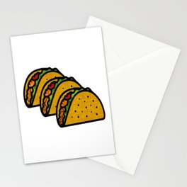 Taco Trio Stationery Cards